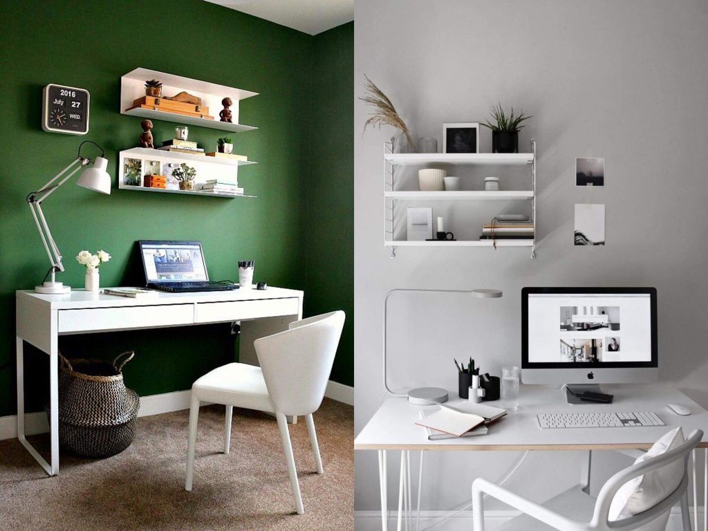 Desk organisation ideas with different colour schemes work from home Ways to decorate your desk to motivate you while working from home 100547185 3039729282781257 1420859440185212928 n 1024x768