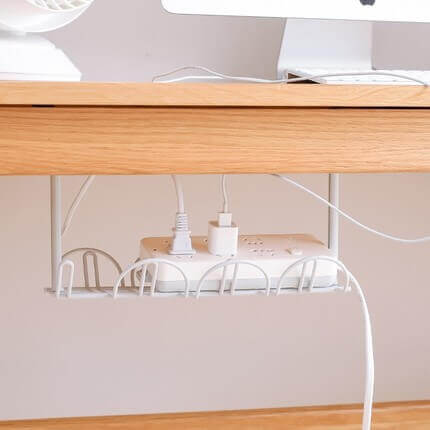 Cord organiser under your desk work from home Ways to decorate your desk to motivate you while working from home O1CN01RLXpTw1HDAtDRDxKB 0 item pic