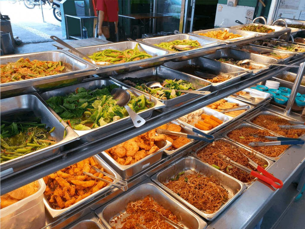 Evergreen Vegetarian House with buffet-style dishes vegetarian Best Vegetarian Restaurants in Penang evergreen 1 1 1 1024x767