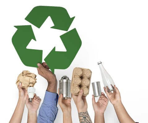 Recyclable items zero waste How can we embrace a sustainability / zero waste lifestyle shutterstock 610475681 478x400 1