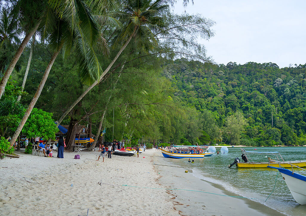 Boats on Monkey Beach park Parks and Nature Attractions in Penang 23611296471 895be8299f b