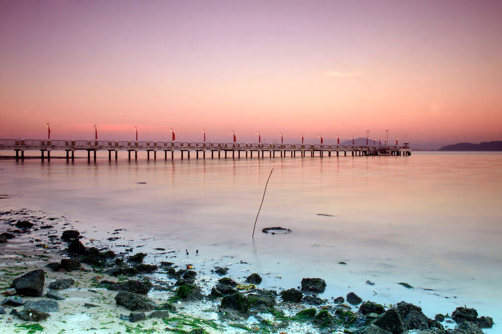 Sunset view at Jetty Pulau Jerejak park Parks and Nature Attractions in Penang 5381032112 39ee98ea12 b