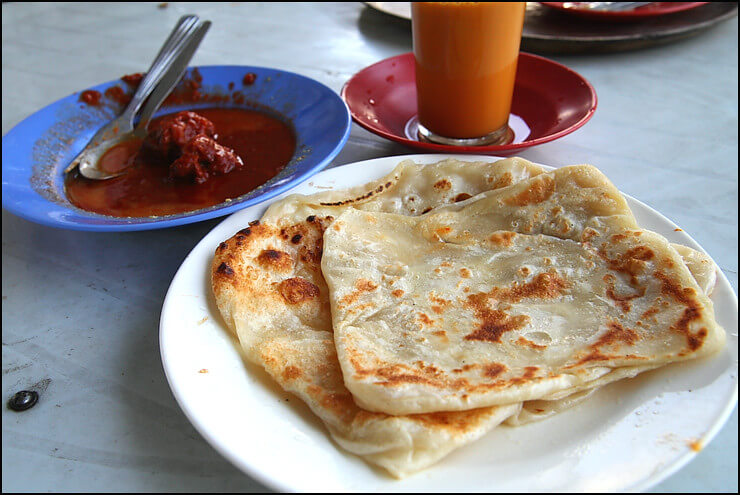 Famous Roti Canai at Transfer Road street stories Street Stories: Transfer Road Roti Canai Transfer Road