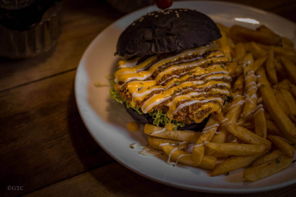 2F+ Coffee Roastery Chicken Charcoal Burger  Food Stories: 2F+ Coffee Roastery 2F CoffeeRoastery 43 1024x683