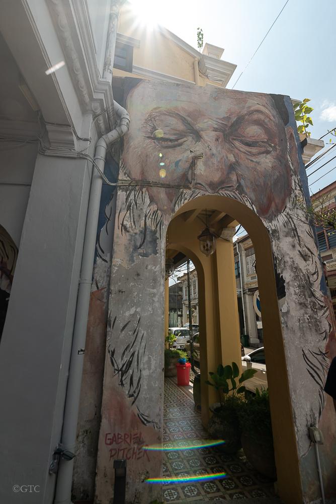 "Mural: ""Big Mouth"" by Gabriel Pitcher at Muntri Street street stories Street Stories: Muntri Street MuntriStreet 45"